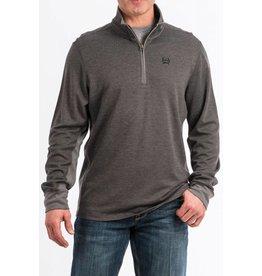 Cinch Cinch Men's Charcoal 1/4 Zip Pullover