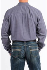 Cinch Cinch Men's Purple Print Long Sleeve Button Down Shirt