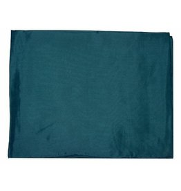Wyoming Traders Solid Teal 100% Silk Scarf
