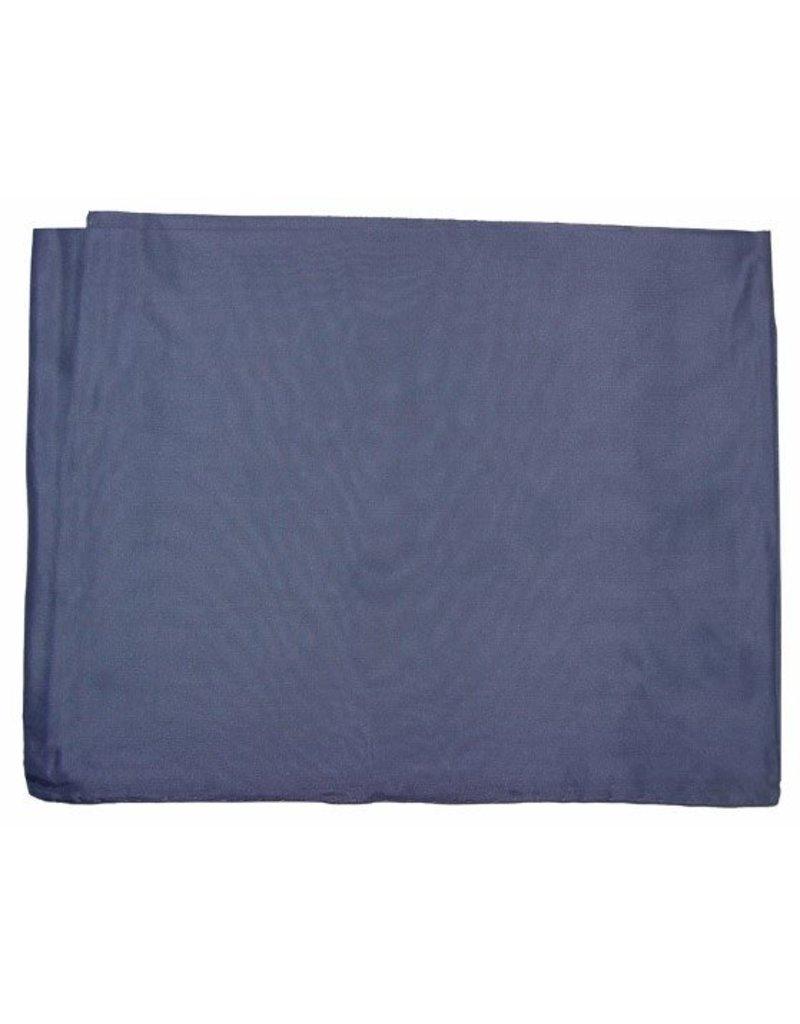 Wyoming Traders Solid Slate 100% Silk Scarf