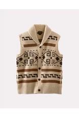 Pendleton Woolen Mills Pendleton Original Westerly Tan Sweater Vest