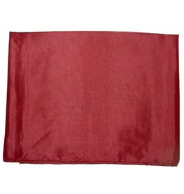 Wyoming Traders Solid Maroon 100% Silk Scarf
