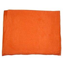 Wyoming Traders Solid Hunter Orange 100% Silk Scarf