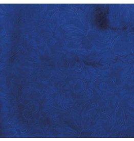 Wyoming Traders Jacquard Royal 100% Silk Scarf