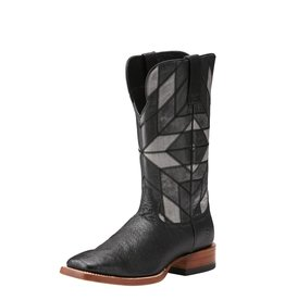 Ariat Ariat Men's Black Smooth Quill Ostrich Relentless Boots