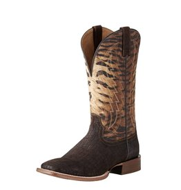 Ariat Ariat Men's Circuit Stride Chocolate Hippo Tiger Print Boots