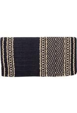 Mustang 100% New Zealand Black Wool Show Blanket