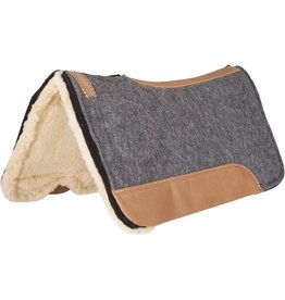 Mustang CorrectFit Fleece Bottom Saddle Pad
