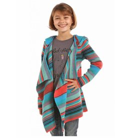 Rock & Roll Cowgirl Rock & Roll Cowgirl Open Front Serape Cardigan