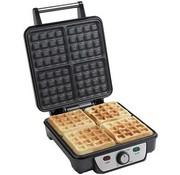 Power supply waffle maker