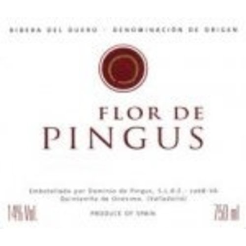 Wine DOMINIO PINGUS 'FLOR DE PINGUS' 2014