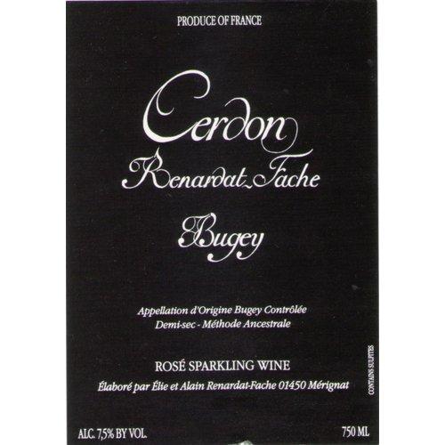 Sparkling RENARDAT-FACHE CERDON DE BUGEY SPARKLING ROSE NV