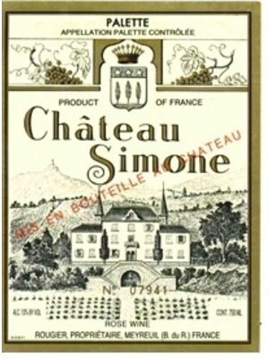 Wine CH SIMONE PALETTE ROSE 2016