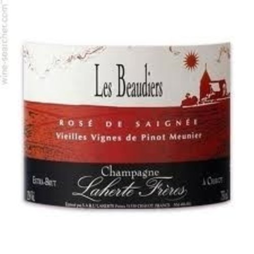 Sparkling LAHERTE FRERES EXTRA BRUT 'LES BEAUDIERS' ROSE DE SAIGNEE CHAMPAGNE NV