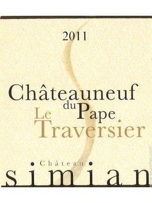Wine CHATEAU SIMIAN CHATEAUNEUF DU PAPE 'LE TRAVERSIER' 2013