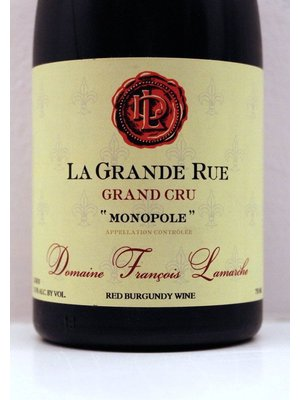 Wine LAMARCHE LA GRANDE RUE (MONOPOLE) GRAND CRU 2014