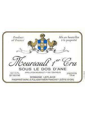 Wine DOMAINE LEFLAIVE MEURSAULT 'SOUS LE DOS D'ANE' 1ER CRU 2009