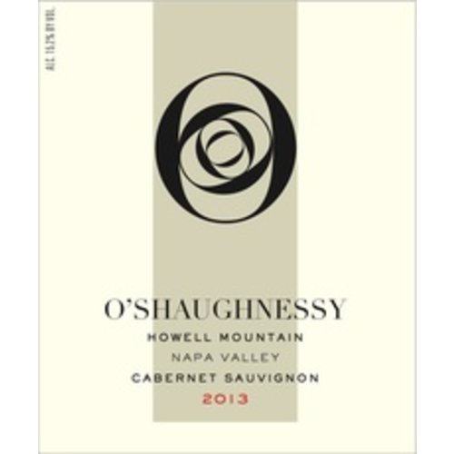 Wine O'SHAUGHNESSY HOWELL MOUNTAIN CABERNET 2015