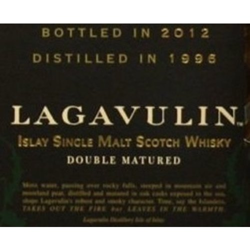 Spirits LAGAVULIN DISTILLERS EDITION 2001 SCOTCH