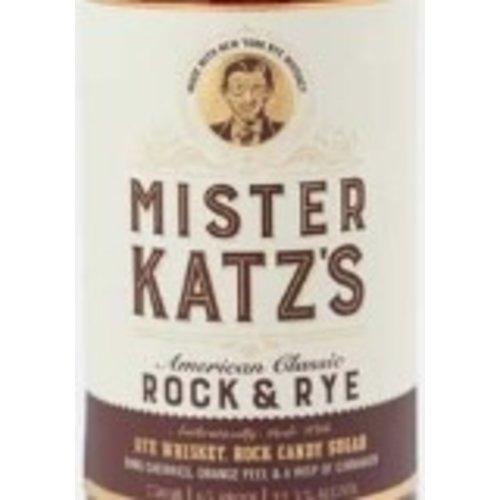 Spirits MISTER KATZ'S ROCK & RYE WHISKEY