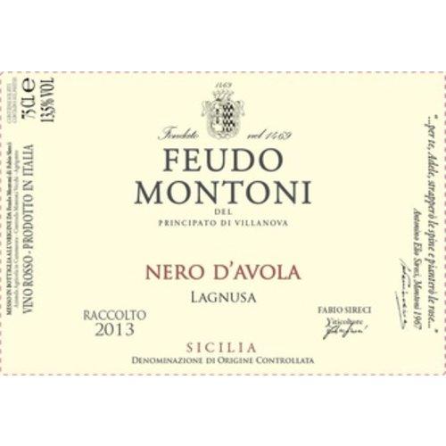 Wine FEUDO MONTONI NERO D'AVOLA LAGNUSA 2015