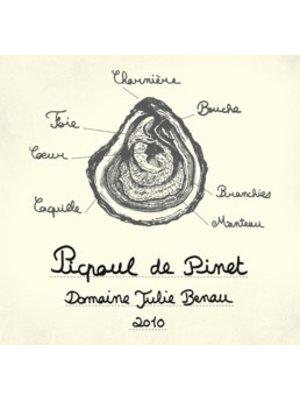 Wine DOMAINE JULIE BENAU PICPOUL DE PINET 2017