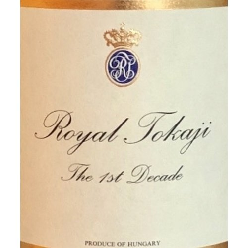 Wine ROYAL TOKAJI 'THE FIRST DECADE' 5 PUTTONYOS ASZU 1993 375ML