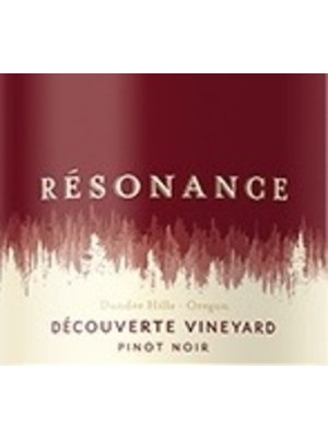 Wine RESONANCE PINOT NOIR 'DECOUVERTE VINEYARD' 2014