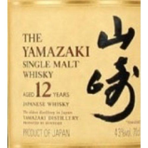 Spirits SUNTORY YAMAZAKI 12 YEAR OLD SINGLE MALT WHISKY