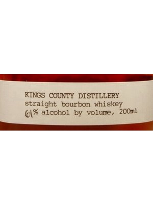 Spirits KINGS COUNTY DISTILLERY BOURBON WHISKEY 200ML