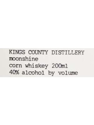 Spirits KINGS COUNTY DISTILLERY MOONSHINE 200ML
