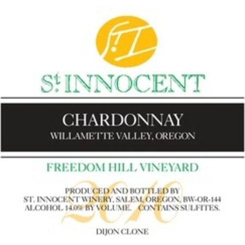 Wine ST INNOCENT CHARDONNAY FREEDOM HILL VINEYARD 2016