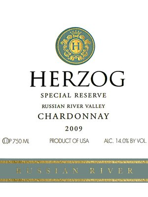 Wine HERZOG CHARDONNAY 'SPECIAL RESERVE' RUSSIAN RIVER 2015