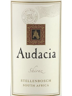 Wine AUDACIA SHIRAZ 2015