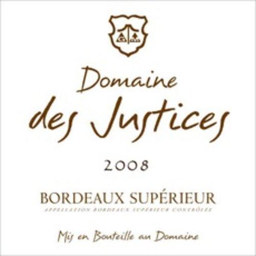 Wine DOMAINE DES JUSTICES BORDEAUX SUPERIOR 2016