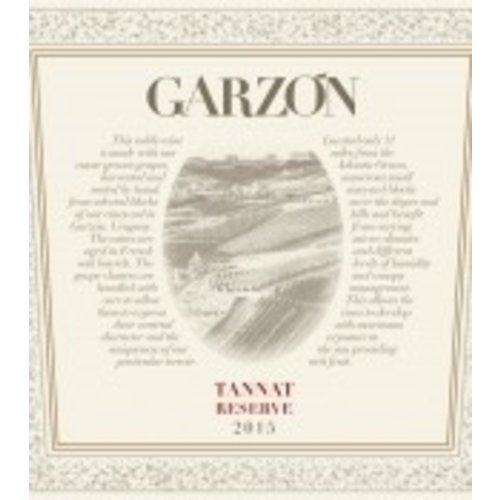 Wine BODEGA GARZON TANNAT RESERVE 2016