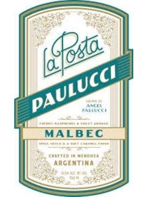 Wine LA POSTA MALBEC 'PAULUCCI VINEYARD' 2016