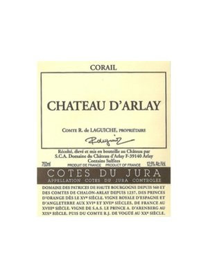 Wine CHATEAU D'ARLAY CORAIL ROSE 2011