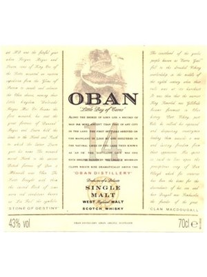 Spirits OBAN 14YR SCOTCH