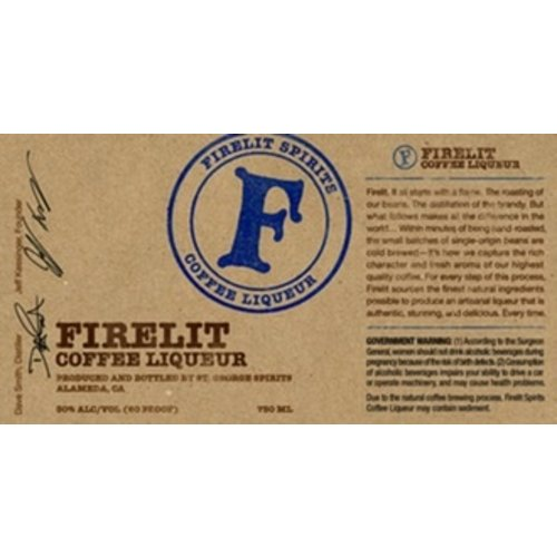 Spirits FIRELIT COFFEE LIQUEUR
