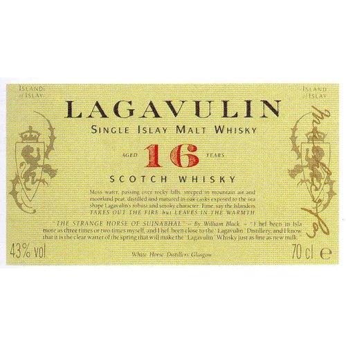 Spirits LAGAVULIN 16YR SCOTCH
