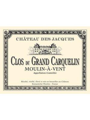 Wine CHATEAU DES JACQUES 'CLOS DU GRAND CARQUELIN' MOULIN-A-VENT 2015 3L