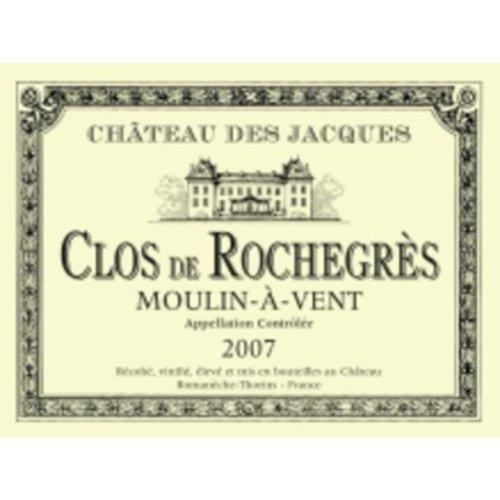Wine CHATEAU DES JACQUES 'CLOS DE ROCHEGRES' MOULIN-A-VENT 2015 3L