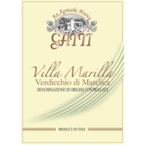 Wine MARCO GATTI VERDICCHIO DI MATELICA 'VILLA MARILLA' 2016