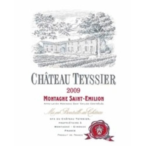 Wine CH TEYSSIER MONTAGNE-ST.EMILION 2014