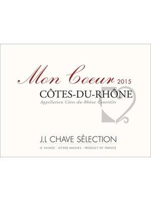 Wine JL CHAVE COTES DU RHONE 'MON COEUR' 2016
