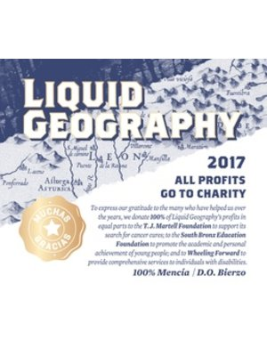 Wine LIQUID GEOGRAPHY ROSE 2017
