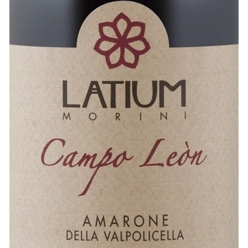 Wine LATIUM MORINI AMARONE DELLA VALPOLOICELLA 'CAMPO LEON' 2012