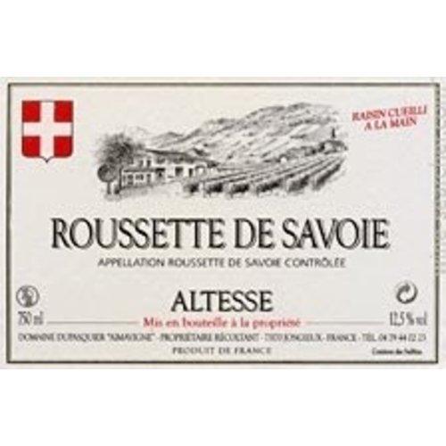 Wine DUPASQUIER ALTESSE 'ROUSSETTE DE SAVOIE' 2012