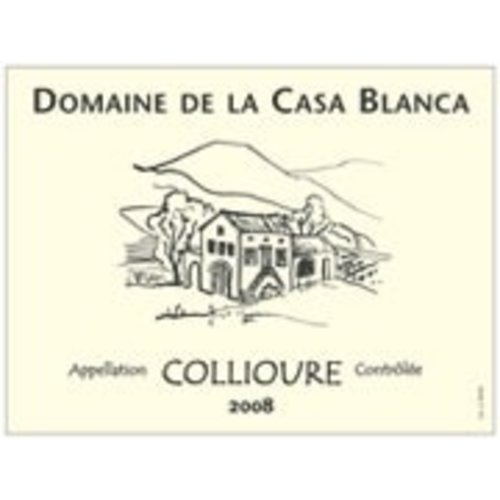 Wine DOMAINE DE LA CASA BLANCA COLLIOURE RED 2015